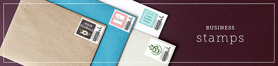 Custom Business Postage Stamps