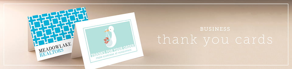 Custom Business Thank You Cards