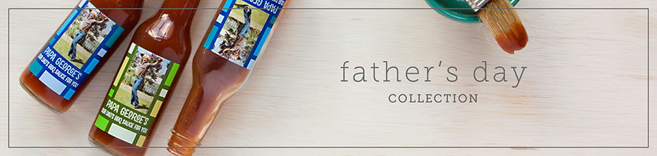 Custom Father's Day Labels