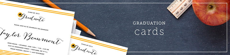 Custom Graduation Party Invitations
