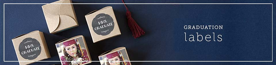 Custom Graduation Party Labels