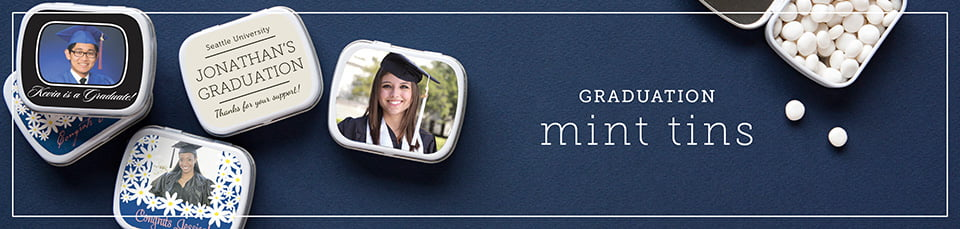 Custom Graduation Mint Tins