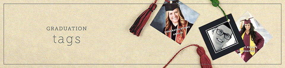 Custom Graduation Party Favor Tags