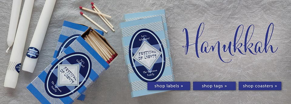 Custom Hanukkah Party & Favor Ideas