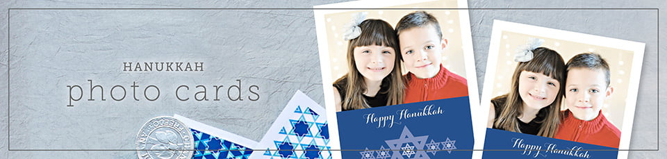 Custom Hannukah Photo Cards