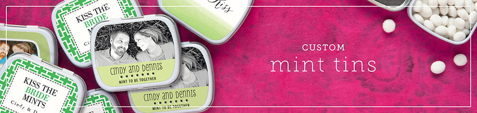 Custom Bar & Bat Mitzvah Mint Tins