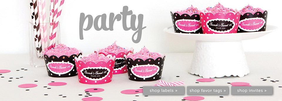Personalized Party Favor Ideas
