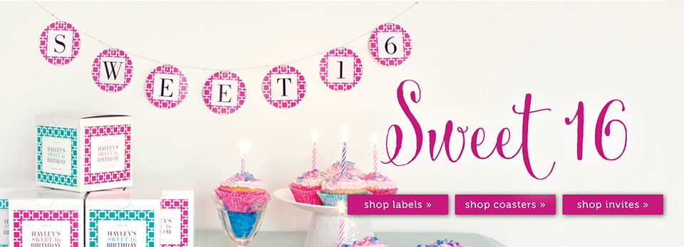 Custom Sweet 16 Party Ideas