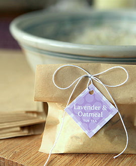 bath and body lavender oatmeal tub tea