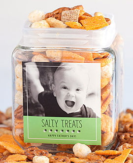 Father's Day Snack Jars