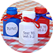 Patriotic Bubble Favors