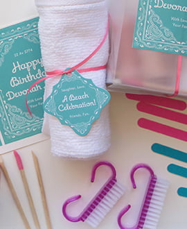 Party Favor DIY Manicure Kits