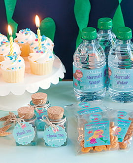 3 DIY Mermaid Party Favor Ideas