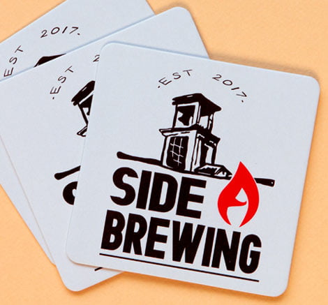business coasters
