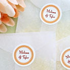 small circle labels