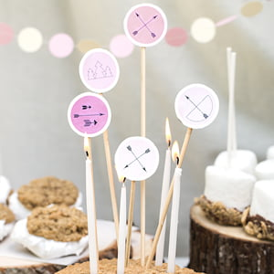 cake toppers - katniss