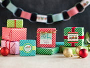 gift wrap - holiday express style