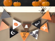 halloween banner - elements icon style