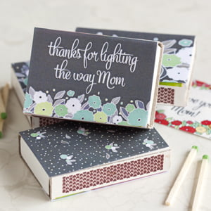 mother's day matchbox covers