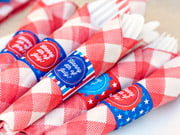 fourth of july napkin wrappers