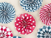 fourth of july cupcake wrappers