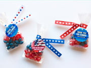fourth of july paper ribbon