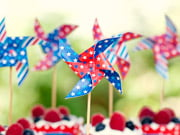 fourth of july pinwheel topper