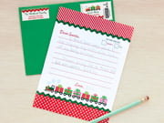 letter to santa - holiday express style