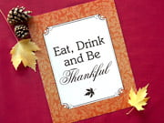 thankful sign - Magnolia style