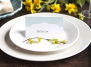 place cards - apothecary deluxe style